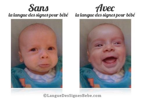 bébé langue des signes
