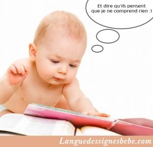 La compréhension de bébé